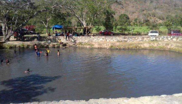 Se recupera nivel del caudal de la poza afectada por el sismo en las lagunas de Atotonilco