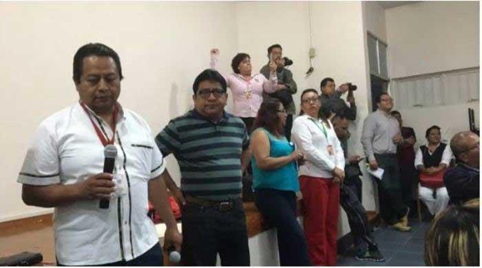 Hospital Civil seguirá en paro, acusan a dirigencia sindical de dar por terminada la jornada sin solución total