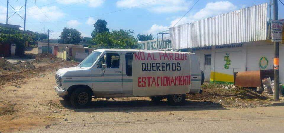 Locatarios del Díaz Mori se oponen a obra de parque lineal