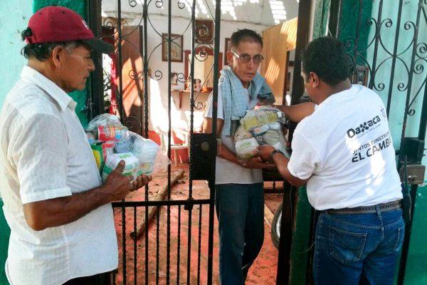 DIF Oaxaca redobla esfuerzos a favor de las familias en la Costa Oaxaqueña