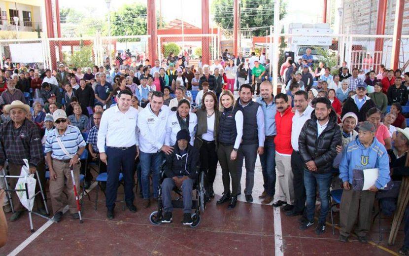 DIF Oaxaca realiza gira de trabajo en la capital oaxaqueña