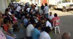 Con bloqueos y tomas de oficinas, trabajadores de Salud del Istmo exigirán salida de Pimentel