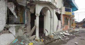 50 viviendas afectadas en Jamiltepec por sismo.