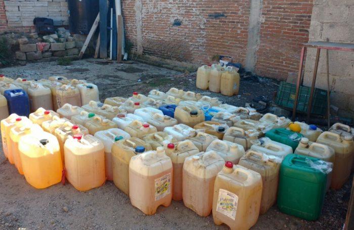 Caen 10 huachicoleros en Oaxaca