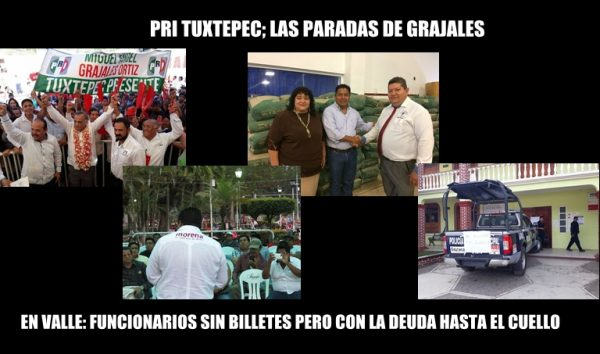 PRI Tuxtepec; Las Paradas de Grajales