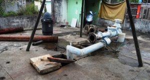 Sismo quema bomba de agua en Tuxtepec, suspenden el servicio en diez colonias
