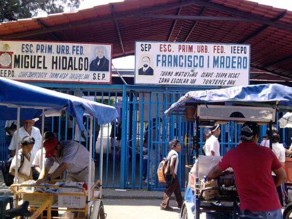 A una semana de sismo, PC no ha supervisado instalaciones de la primaria Francisco I. Madero