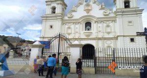 Cierran iglesia de Juquila; registra daños por sismo