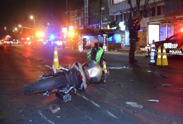 En un 50% de los accidentes ocurridos, está involucrado un motociclista