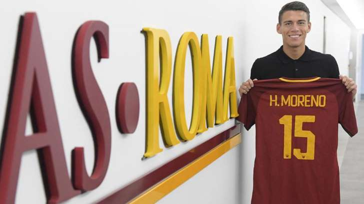 En la Roma aseguran que fichar a Héctor Moreno fue un error