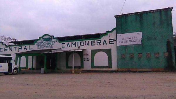 Ni montos ni fecha,  para rehabilitación de central camionera en Tuxtepec