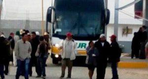 Secuestra CODEP autobuses en Tlaxiaco