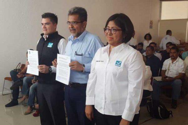 Presentan a Delegado Especial de Nueva Alianza en el Estado de Oaxaca