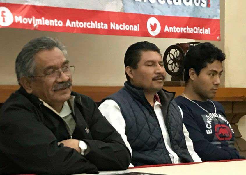 Anuncia marcha antorcha campesina en SAGARPA México