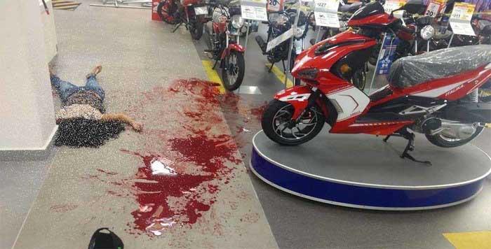 Balacera en Salina Cruz deja una mujer muerta y un herido