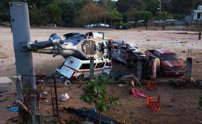 Dan 14 millones para parque y monumento por helicopterazo de Oaxaca