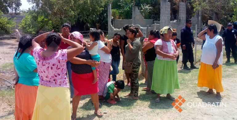Altercado entre Sedatu y colonos de Juchitán, Oaxaca