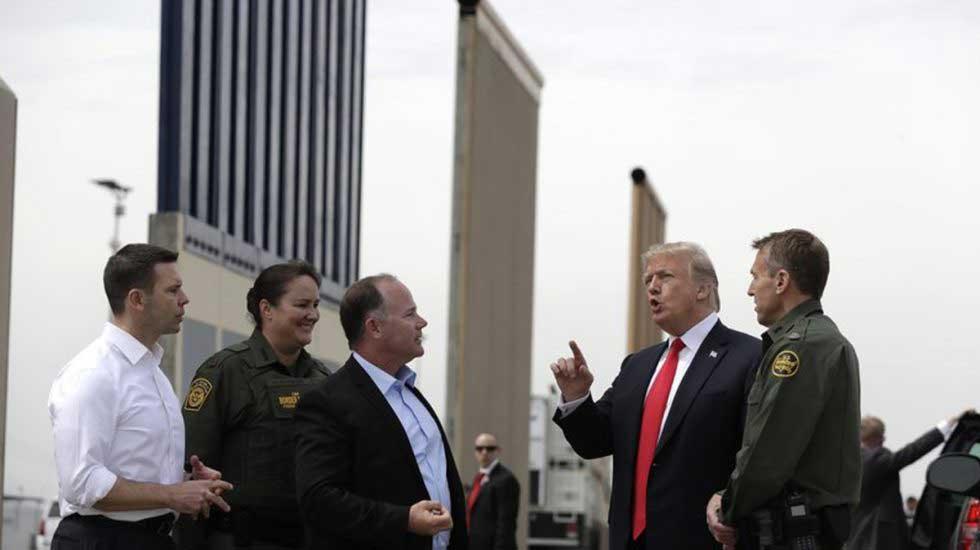 Trump anuncia que la construcción del muro será de inmediato
