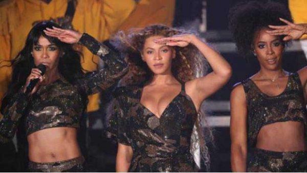 Beyoncé se reúne con sus compañeras de Destiny's Child en Coachella