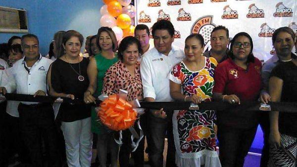 Inauguran oficinas de Radio Cuenca en Tuxtepec