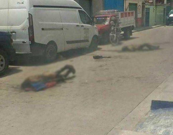 Pobladores queman vivos a cuatro presuntos ladrones en Yehualtepec