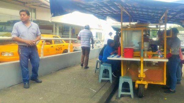 Comercio va contra 13 vendedores ambulantes  por no obedecer exhortos