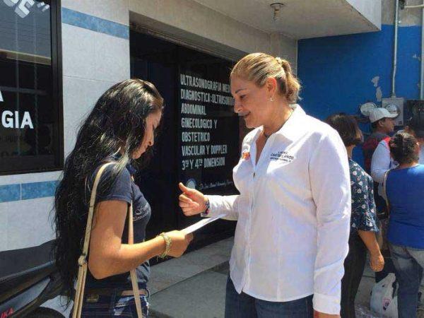 """""""No más engaños de políticos corruptos"""": Laura Castellanos"""