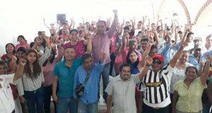 Acusando de traición a MORENA, Gadiel Rodríguez presentó registro por el PMR en Jacatepec