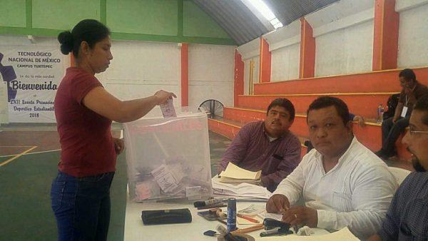 Se realiza en la Cuenca, elecciones de burócratas