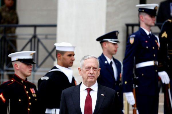 Pentágono no descarta represalias contra Siria por presunto ataque químico