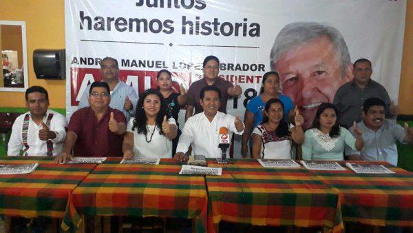 Candidato de la Coalición Juntos Haremos Historia presenta Planilla en Valle