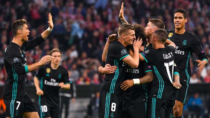 Real Madrid saca ventaja contra Bayern Munich