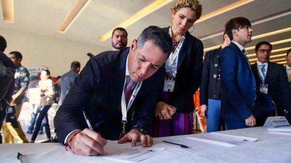 Atestigua Gobierno de Oaxaca Firma del Pacto por la Primera Infancia de los candidatos a la Presidencia de México
