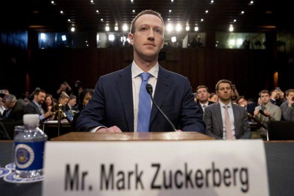 Mark Zuckerberg comparece ante el Congreso de EU y ofrece disculpas