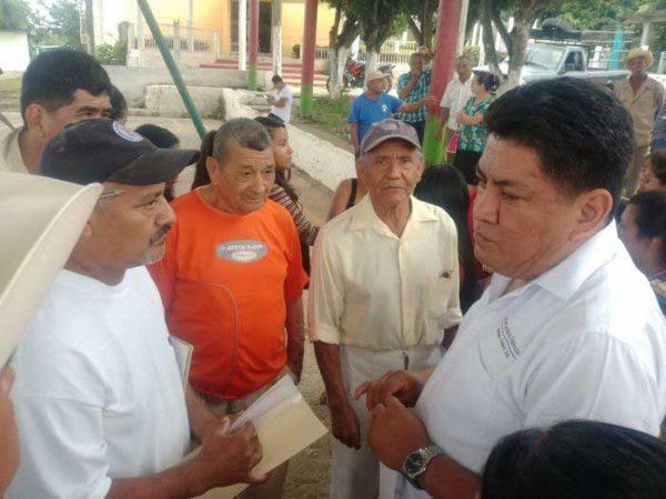 Irineo Molina la mejor propuesta para Tuxtepec: Comunidades