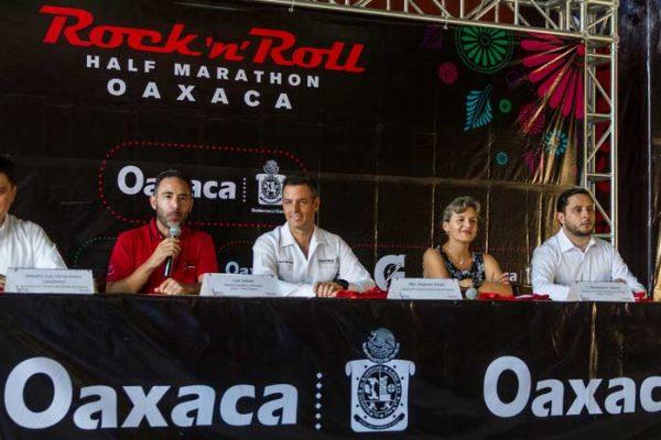 Todo listo para el primer medio maratón Rock'n Roll Oaxaca 2018