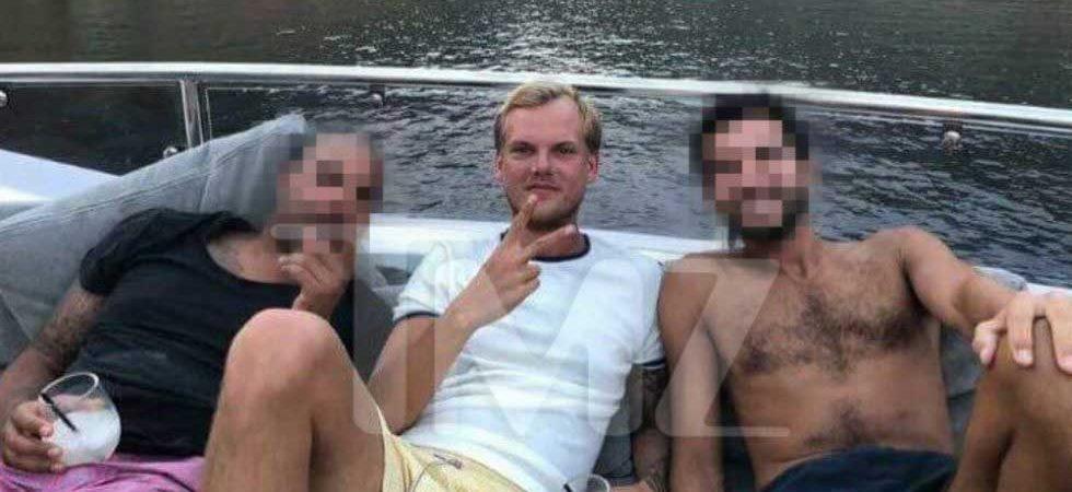 Captan a Avicii disfrutando en yate un día antes de su muerte