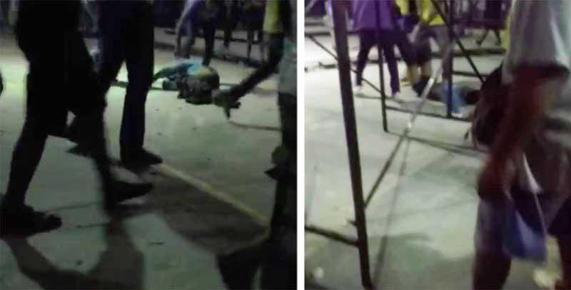 Apalean y lanzan a cocodrilos a hombre acusado de violación en Oaxaca
