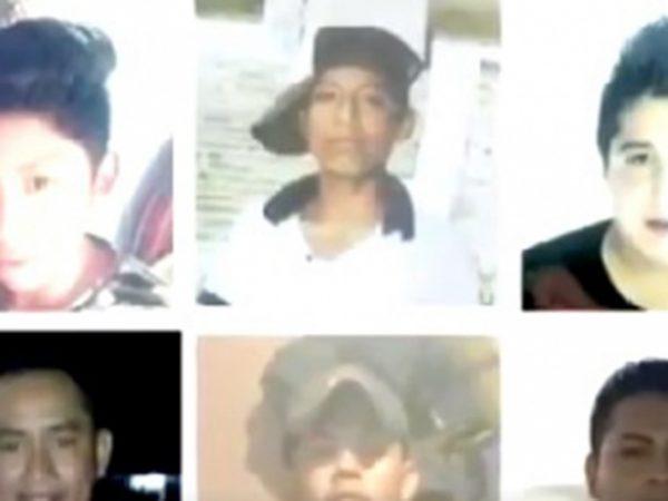 Desaparecen 6 jóvenes en Temascal, familiares culpan a la policía municipal