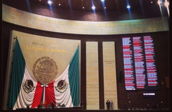 Diputados avalan eliminar fuero constitucional