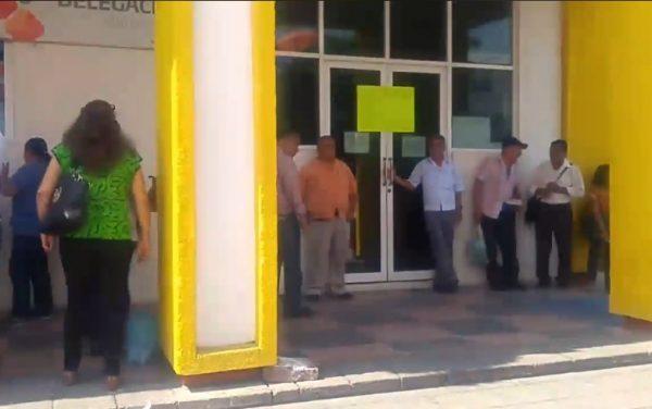 Jubilados también se movilizan, exigieron pagos a Murat