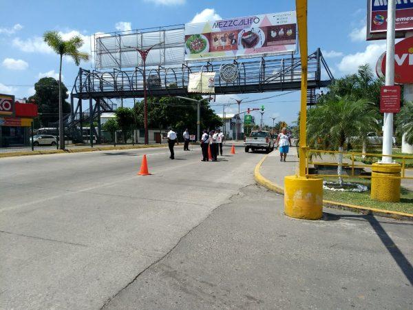 Policia Vial realiza campaña de prevención en Tuxtepec