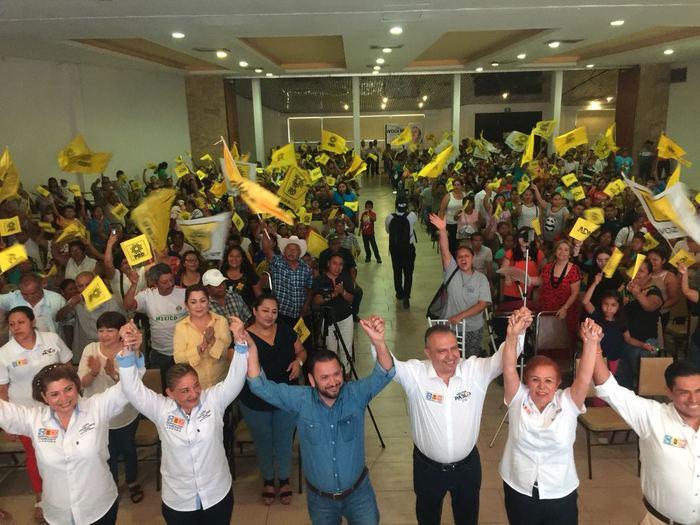 """Coalición """"por México al Frente"""" se hace presente en la Cuenca"""