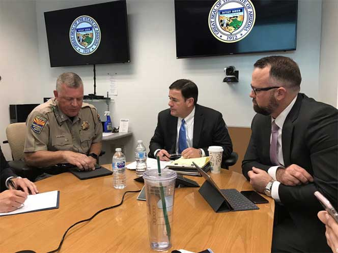 Arizona enviará más elementos de la Guardia Nacional a la frontera