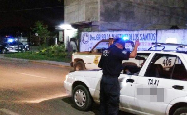 En operativo, detectan taxis sin seguro de viajero