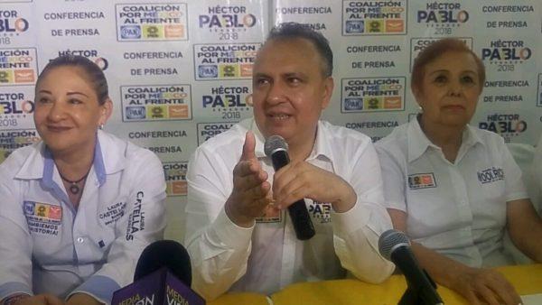 No me debo, ni obedezco a algún gobernador: Héctor Pablo