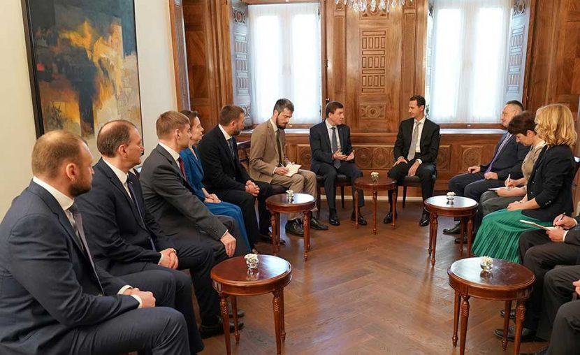 Presidente sirio acusa a EU de orquestar campaña de mentiras