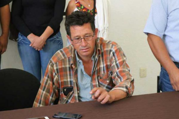 Golpean al presidente del Comité de Víctimas de Nochixtlán