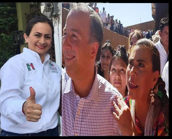 Emma del Carmen y Cristabel Matus, aspirantes a la Diputación Local por el PRI