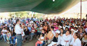 Apoyo multitudinario del Valle Eteco a Raúl Bolaños Cacho Cué